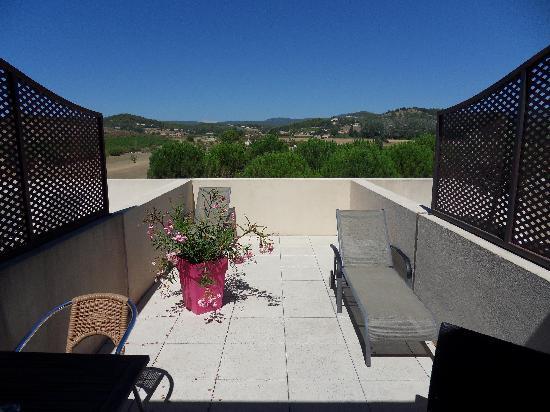 Le Manoir : La terrasse