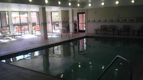Courtyard Sacramento Folsom: Great indoor pool/spa.