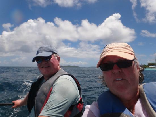 Palm Island Resort & Spa: The island has wonderful wind for sailing Hobie Cats