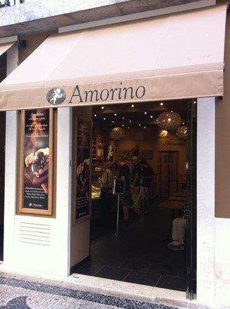 Amorino Baixa: front entrance