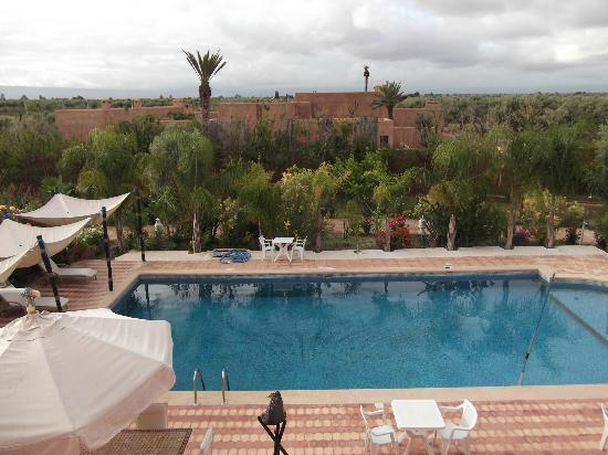 Kasbah Chwiter: View from roof terrace