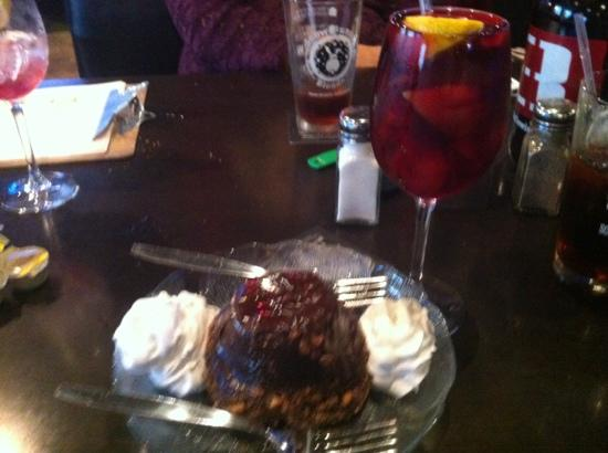Vito Provolone's Restaurant: German Choclate cake and sangria