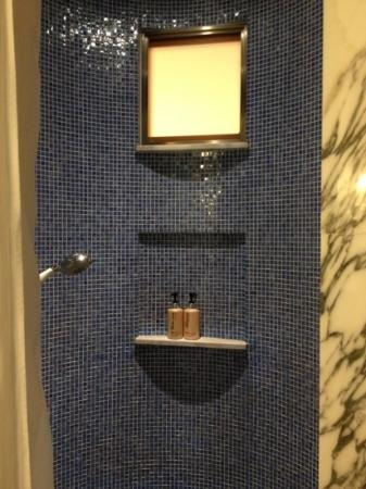 Resorts World Sentosa - Hotel Michael: the shower area