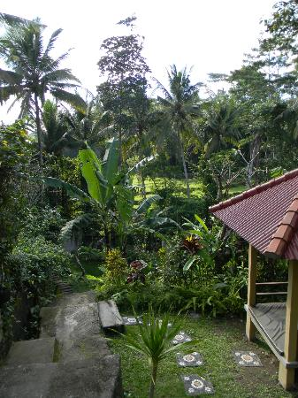 Tunjung Mas Resort Ubud: Outside our first room