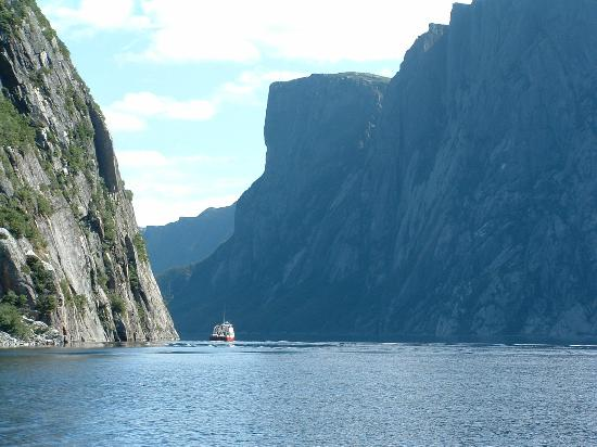 Seabreeze B & B: Western Brook pond tour 10 minutes from the B&B
