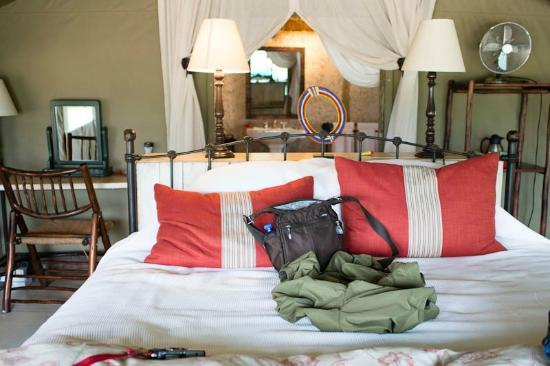 Tanda Tula Safari Camp: The rooms (and beds) are very comfortable