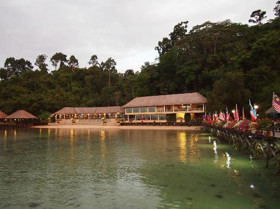 กายานา อีโครีสอร์ท: The lounge & Macac Restaurant