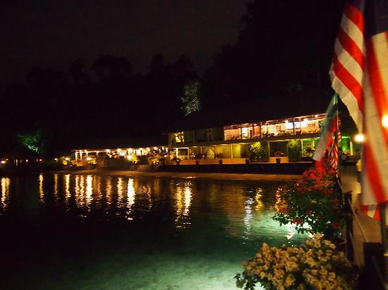 Gayana Eco Resort: View at night