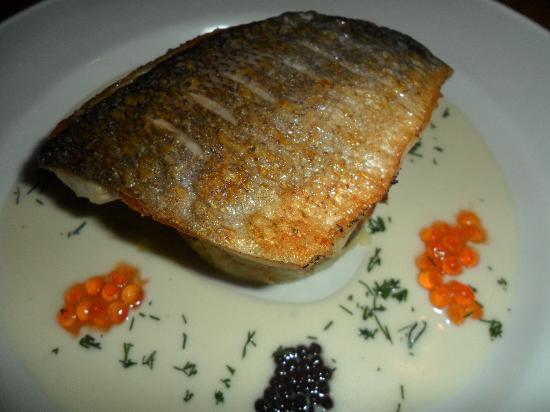 Lambs Restaurant: I recommend the black sea bream