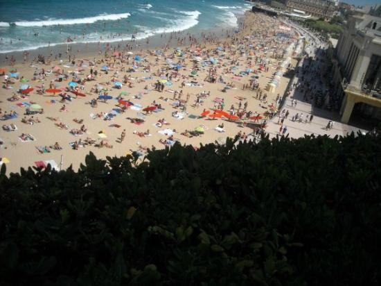 Côte des Basques: biarritz plage