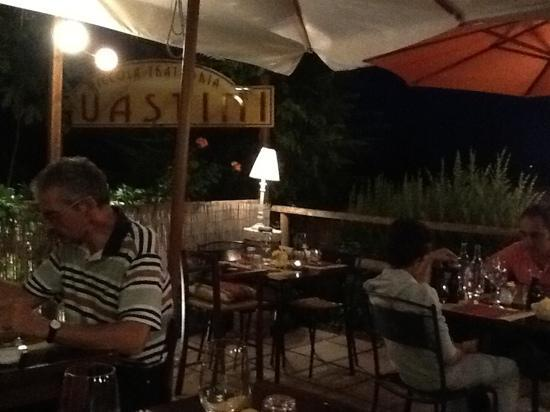 Piccola Trattoria Guastini: fresca serata di settembre
