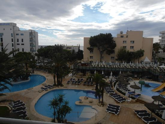 Hotel Marins Playa: view from room