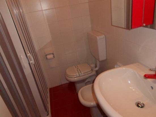 Hotel Albatros: Il bagno... 