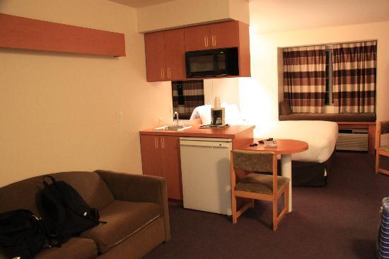 Microtel Inn & Suites by Wyndham Salt Lake City Airport: Room