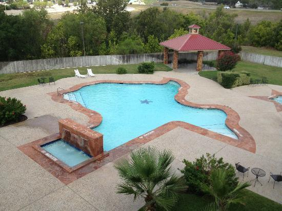 Holiday Inn Express Hotel & Suites: A Texas Shaped Pool