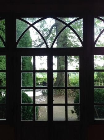 Chateau de Nazelles Amboise: View from the summer kitchen overlooking the countryside