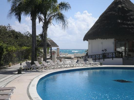 Bel Air Collection Xpu Ha Riviera Maya: View from pool/beach