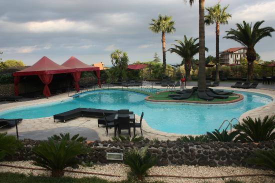 Villa Michelangelo: La piscina 