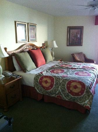 Pointe Estero Beach Resort: Schlafzimmer/Bett