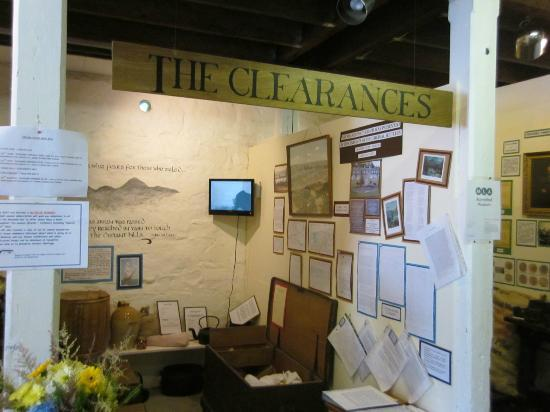 Isle of Arran Heritage Museum: The Clearances