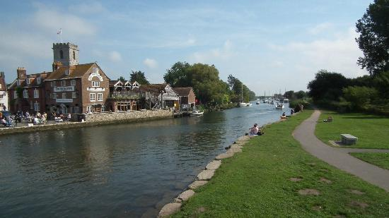 The Old Granary: Spend awhile by the river
