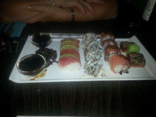 The Bay: Sushi platter