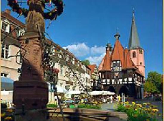 Hotel Gasthof Zur Krone Odenwald-Sterne-Hotel : Michelstadt in nähe vom Hotel