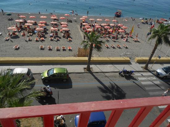 Hotel Albatros: Dal balcone vista mare