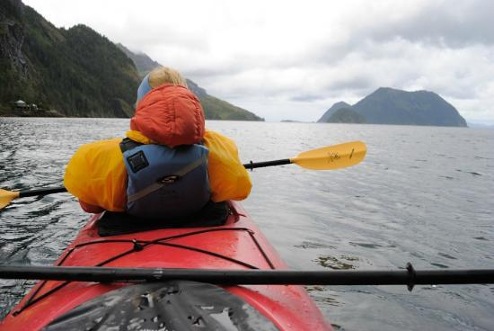 Orca Island Cabins: kayaking
