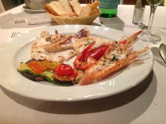 Antonio's: grilled seafood