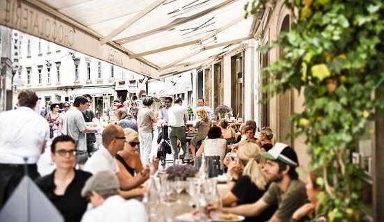 Delikatessen Frankowitsch: Gastgarten