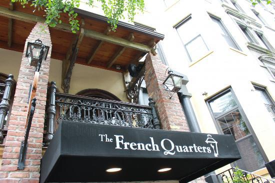 The French Quarters Guest Apartments: street view