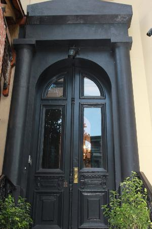 The French Quarters Guest Apartments: Doorway of Townhouse