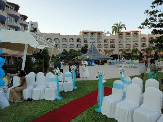 Accra Beach Hotel & Spa: wedding area