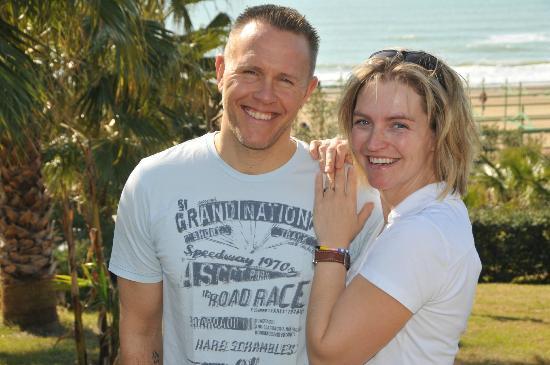 KhashaMongo Guesthouse: Ihre Gastgeber Chantal& Robby