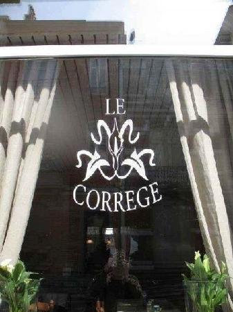 Le Correge: Restaurant Le Corrège
