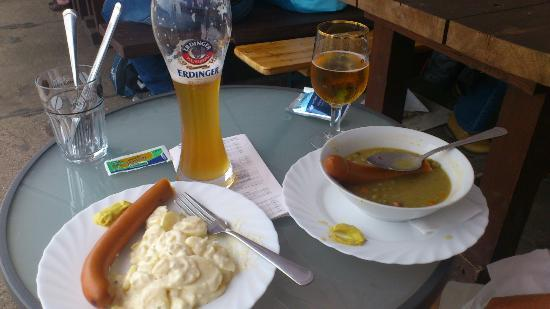 Typical German Lunch