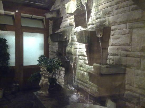 Central-Hotel  Kaiserhof: la fontana interna