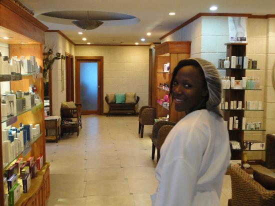 Accra Beach Hotel & Spa: at the spa