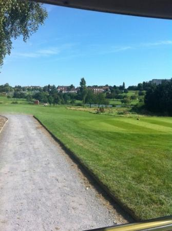 Best Western Plus Coventry Windmill Village Hotel Golf & Spa: hotel from the golf course