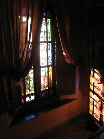 Riad Ahlam: Une fenêtre de notre chambre