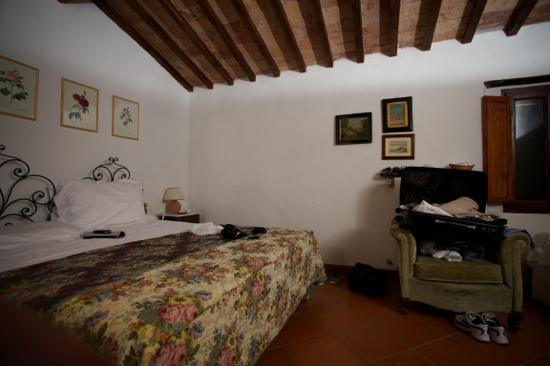 Agriturismo Podere San Lorenzo: la camera nel sottotetto
