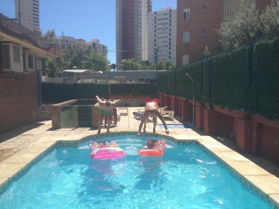 Carlos V Apartments: Pool Play