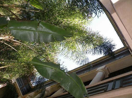 Al Fassia Aguedal: courtyard