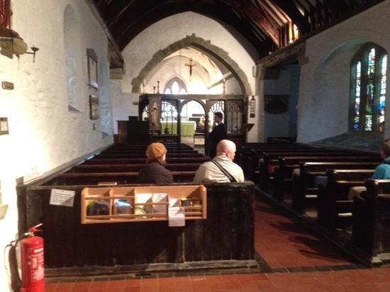 St. Materiana's Church : Church interior