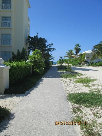 Reef Residences on Grace Bay: Just a short walk to the beach.