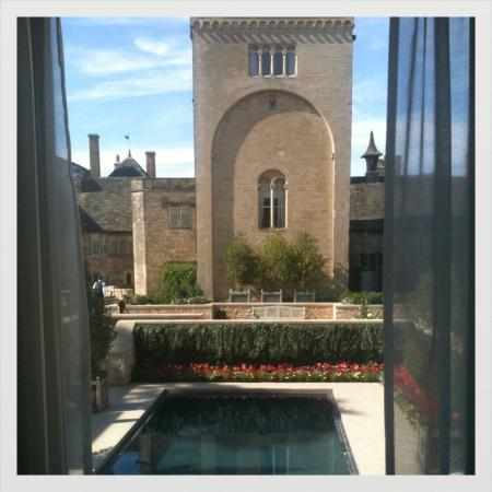 Ellenborough Park: View from woodland court luxury room