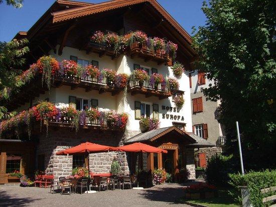 Hotel Europa: entrata dell'albergo europa