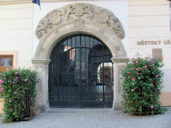 New Town Hall: entrance