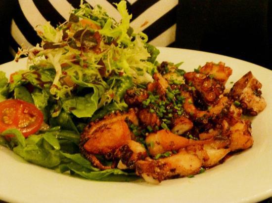 STOCKs Fischrestaurant: Gerösteter Oktopus